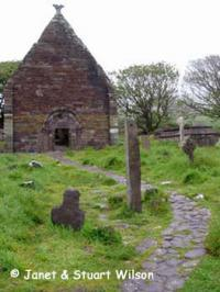 Kilmalkedar Church on the Dingle Peninsula, Ireland
