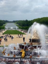 Versailles garden and fountains, Paris, France