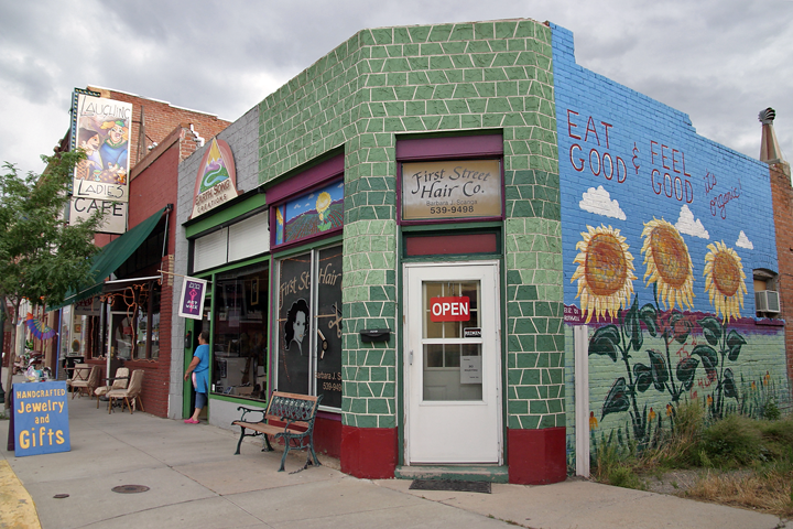 Colorful store in Salida, Colorado, USA