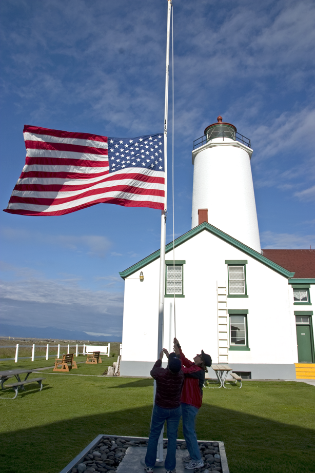 Keeping the Light On -- Volunteering at Washington's New Dungeness Light Station