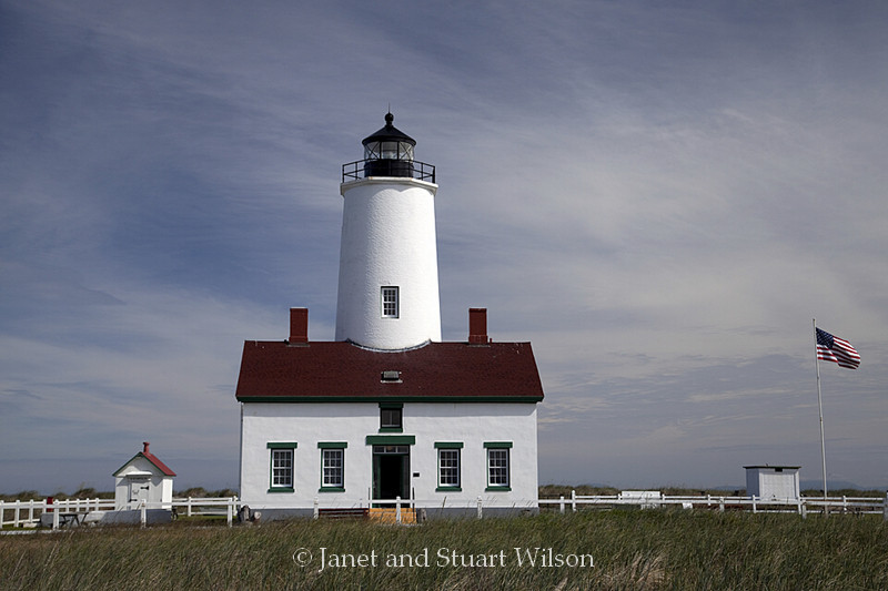 Postcard from New Dungeness Lighthouse, Washington