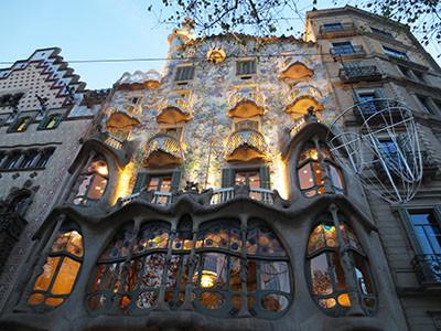 Postcard -- Barcelona, Spain